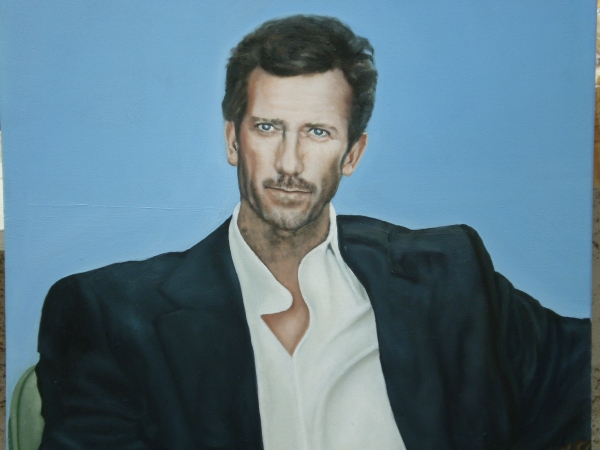 Hugh Laurie by magalid